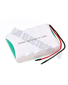Akumulator 2300 mAh NiMH 6V Z KABELKAMI