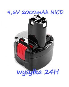 Akumulator Bateria BOSCH EXACT GSR PSR 9.6V 2Ah.