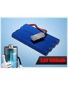 Akumulator RC R/C 9,6V 1000mAh NiCd AA wtyk Tamiya