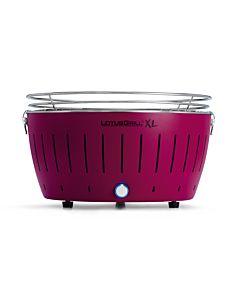 LotusGrill XL- kolor fioletowy - wersja XL (średnica 435 mm wysokość 257 mm) G-LI-435