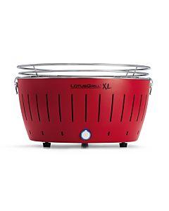 Lotus Grill XL- kolor czerwony - wersja XL (średnica 435 mm wysokość 257 mm) G-RO-435
