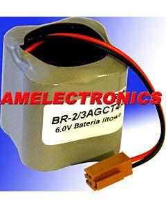 NOWA Bateria litowa pierwotna BR-2/3AGCT4A 6.0V