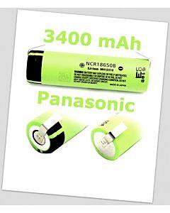 Nowy Panasonic NCR18650B 3400mAh BLASZKI