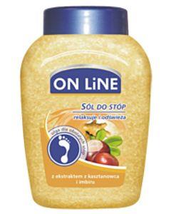 Sól do stóp o zapachu pomarańczy (kasztanowiec/imbir)