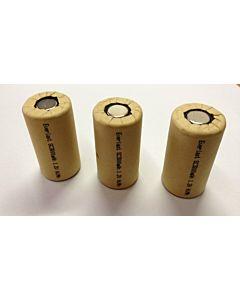 Ogniwa (akumulatorki) 1,2V 3000mAh SC NiMH 3 szt